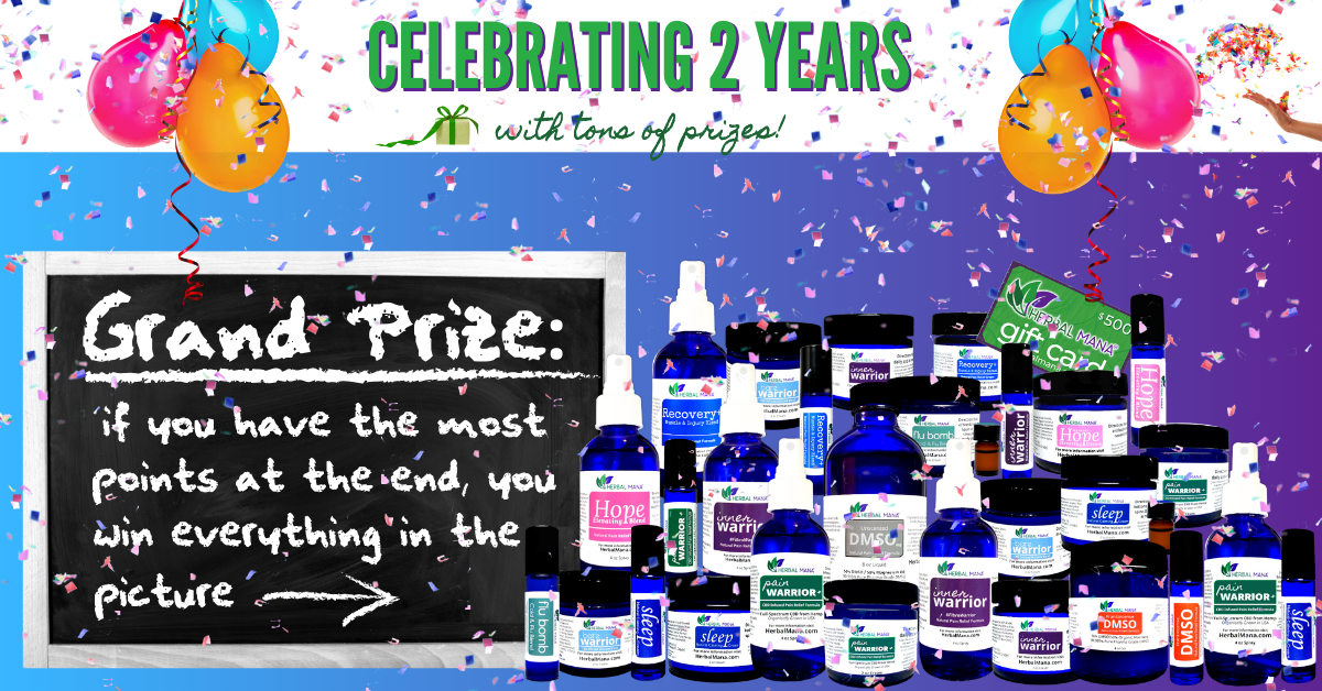 2nd anniversary grand prize giveaway contest