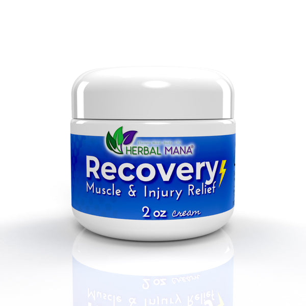 Recovery Cream Muscle and Injury Relief Blend