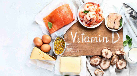 healthy foods for vitamin d supplements, salmon, fish, eggs, cheese, shrimp, mushrooms