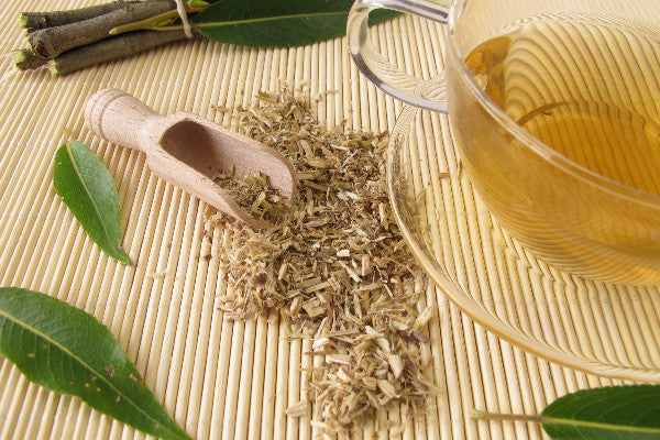 what is metatarsalgia metatarsalgia symptoms causes natural remedies willow bark in a scoop on a bamboo mat with leaves and tea on the table