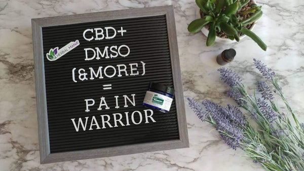 CLEARANCE!! Pain Warrior+ Set Pain Warrior+ Set (4oz spray, 10mL roller, 2oz cream) Herbal Mana LLC