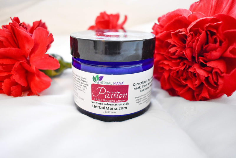 CLEARANCE!! Passion Cream (Libido Boosting Blend) Herbal Mana LLC