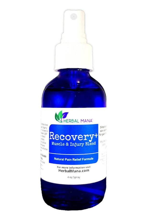CLEARANCE!! Recovery+ (Muscle & Injury Blend) 4 oz spray Herbal Mana LLC