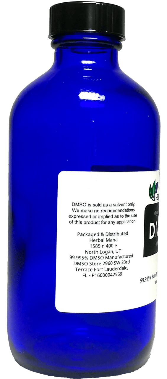 DMSO 8 oz liquid 70/30 Aloe Vera Herbal Mana LLC