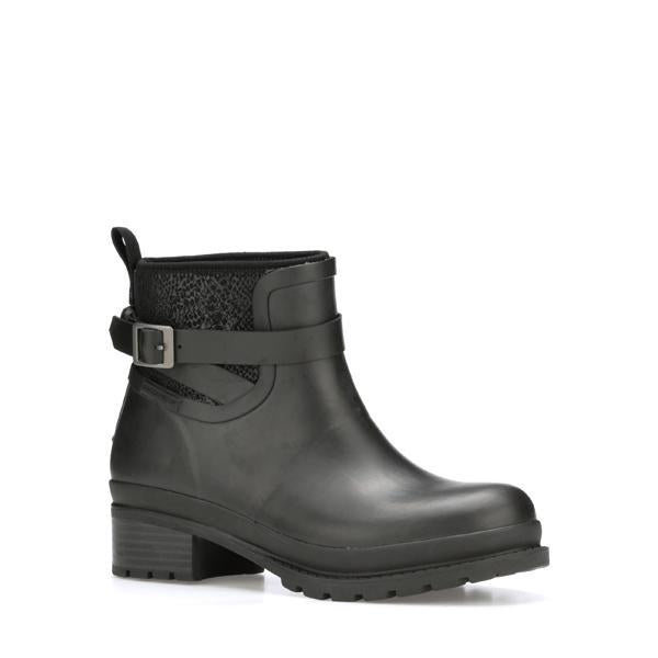 Women's Liberty Ankle Rubber Boots in Black | Size 5 | Neoprene | The Original Muck Boot Company