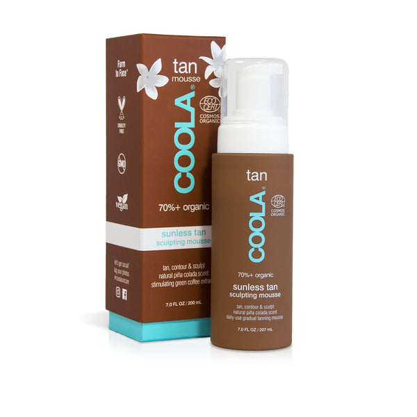 Coola Organic Sunless Tan Express Sculpting Mousse - Room— 9