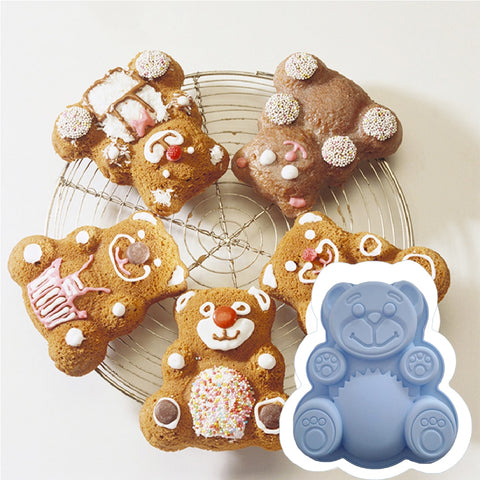 1pc Lovely Bear Form Cake