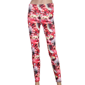 Women's Galaxy Leggings Pants