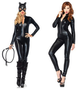 leather tights Siamese  clothing