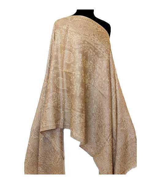 Gold shawl from India