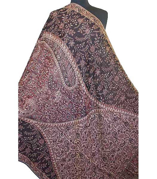 Wool Jamavar Shawl