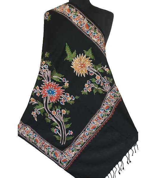 shawl embroidered