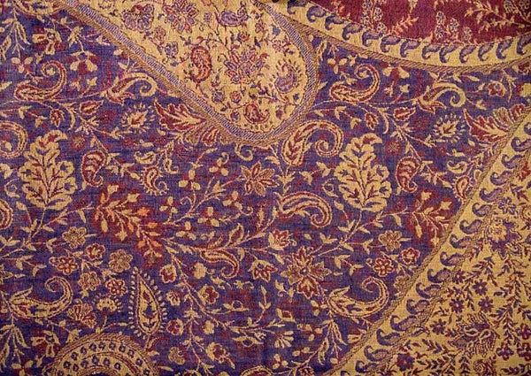 Indian jamawar shawls detail