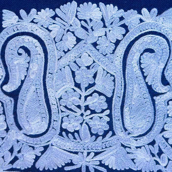 paisley embroidery detail pattern