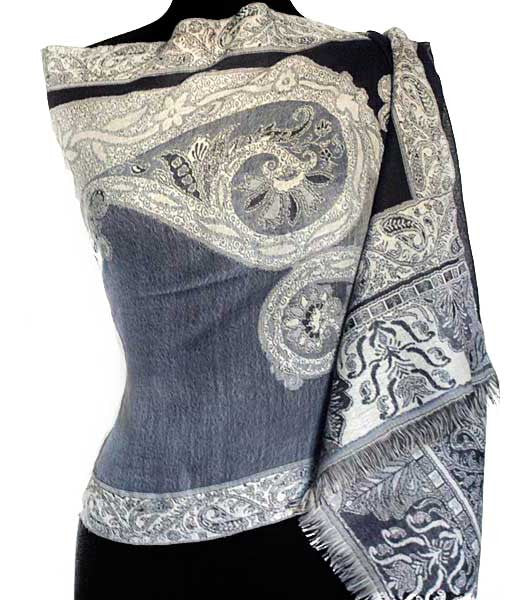 Shades of grey india scarf