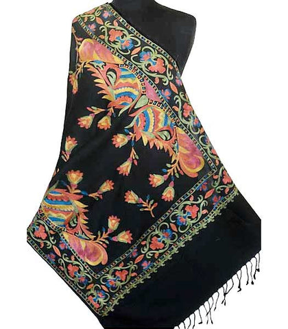 Indian Embroidered Colorful Wrap