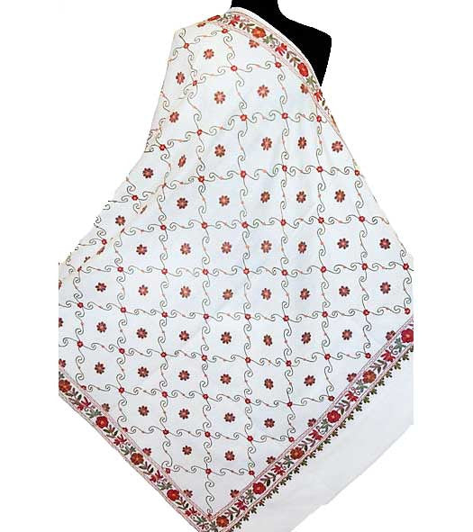 kashmiri embroidered shawl