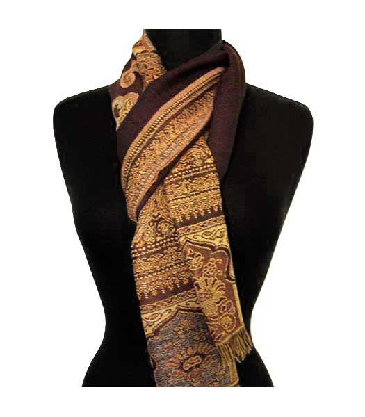 Mahogany Brown Scarf