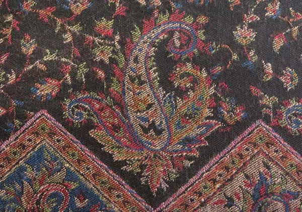 Paisley wool shawl from India
