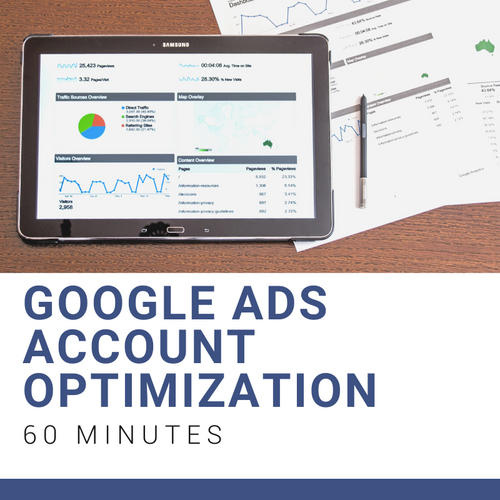 1 Hour Google Ads Account Optimization