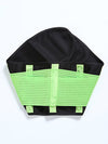 Colorful High Stretch Waist Trimmer Sweat Slim Belt For Sports-Green 3