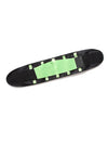 Colorful High Stretch Waist Trimmer Sweat Slim Belt For Sports-Green 2