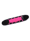 Colorful High Stretch Waist Trimmer Sweat Slim Belt For Sports-Hot Pink 2