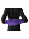 Colorful High Stretch Waist Trimmer Sweat Slim Belt For Sports-Purple 1