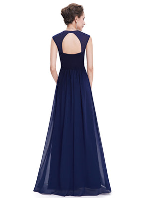Ever-Pretty Women's Elegant V-neck Long Evening Dress EB27968