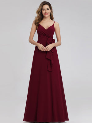 Ever-Pretty Women's V-Neck Spaghetti Straps Floor-Length Bridesmaid Dresses EP00963