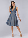 Backless Shiny Cocktail Dresses For Women Ep03057-Sapphire Blue 1