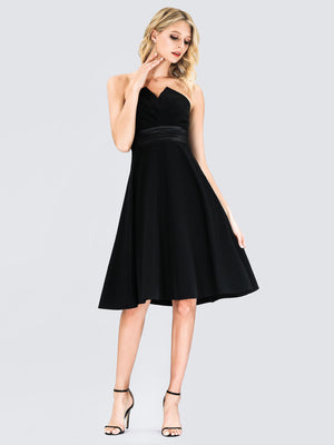 Ever-Pretty Women's A-Line Strapless Empire Waist Cocktail Dress EP03103