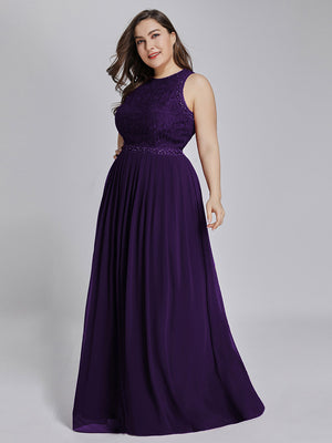Ever Pretty Women Fashion Sleeveless Round Neck Long Cocktail Party Dresses EP07391 (3555027746880)
