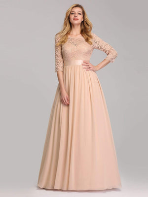 Ever-Pretty Ever Pretty Elegant Empire Waist Lace Bridesmaid Dresses EP07412