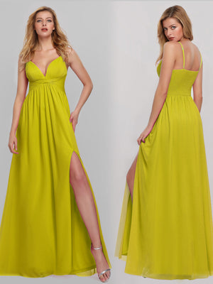 Ever-Pretty Women's V-Neck Spaghetti Straps Evening Party Maxi Dresses EP07882