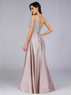 Double V Neck Prom Dresses For Women Ep07890-Blush 5