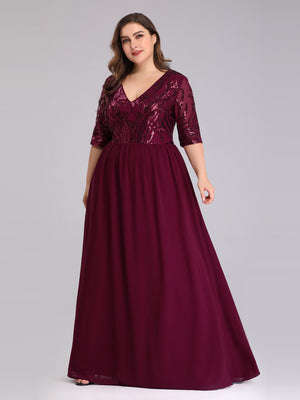 Ever-Pretty Mother of Bride/Groom Dresses with Half Sleeve EP07992