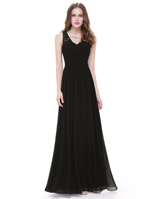 Ever-Pretty Women's Elegant V-Neck Long Evening Party Dress EP08871