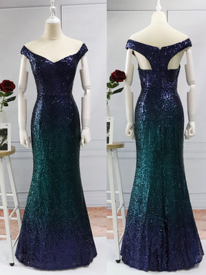 Ever-Pretty Women Elegantand Graceful Sequin Long Sparkle Evening Party Dress EP08999 (1987672604736)