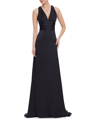 Ever-Pretty Elegant Sexy V-neck Evening Dress EP09008