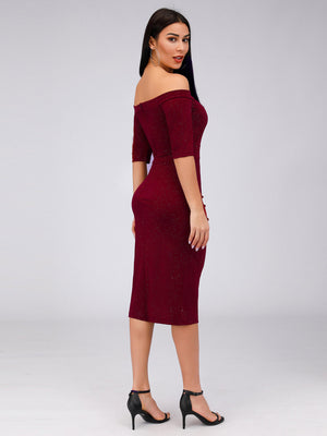 Ever-Pretty Off the Shoulder Bodycon Party Dresses for Women EZ03048