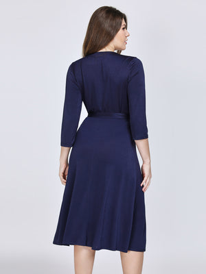Ever-Pretty Sweetheart Neckline Elegant Cocktail Dresses with Half Sleeve EZ07669