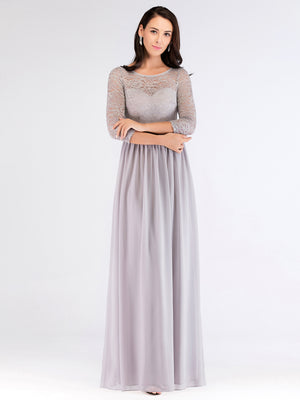 Ever-Pretty Long Lace Green Evening Bridesmaid Dresses EZ07680 (1937393287232)