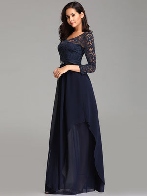 Ever-Pretty Classic Evening Party Dresses with Long Sleeve for Women EZ07716