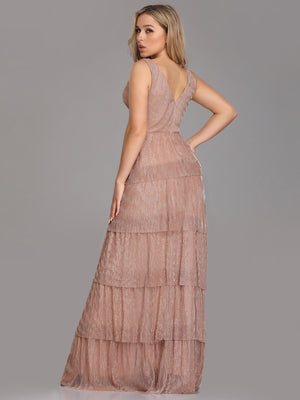 Ever-Pretty Long Women Formal Tiered Maxi Evening Dresses EZ07766