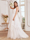 Romantic Wholesale Lace & Tulle Sleeveless Wedding Dress