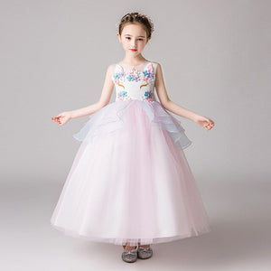 Ever-Pretty O-Neck Sleeveless Bow Sashes Ball Gown Pageant Dresses CG03401 (4162989097021)