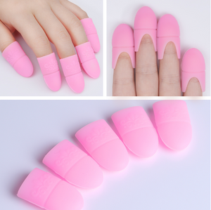 Gel Polish Remover Wraps Silicone