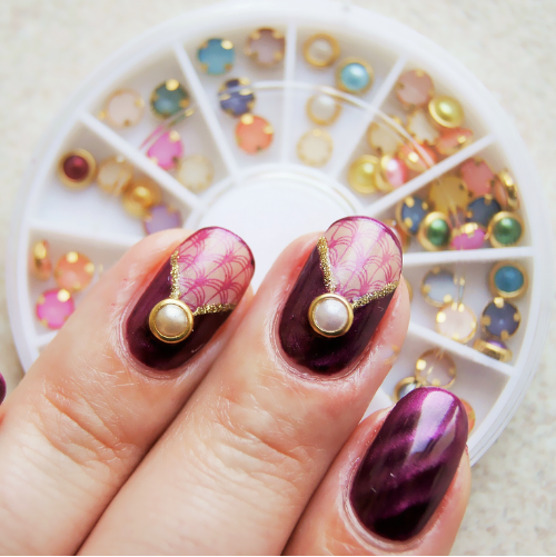 Nail Art Decoration Hot Selling Wheel