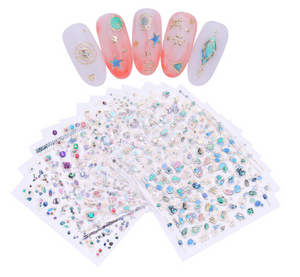 Nail Art Decoration Transfer Stickers